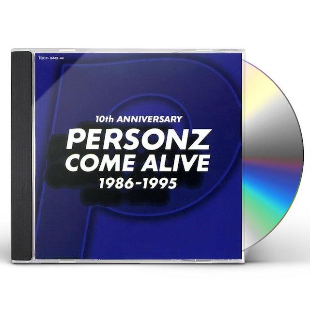 PERSONZ COME ALIVE 1986-1995 CD