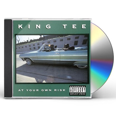 King Tee AT YOUR OWN RISK CD