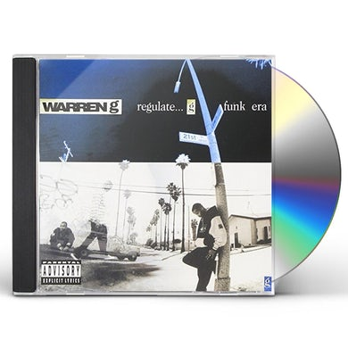 Warren G REGULATE...G FUNK ERA CD