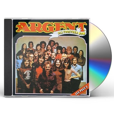 Argent ALL TOGETHER NOW CD