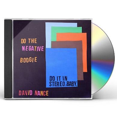 David Nance NEGATIVE BOOGIE CD
