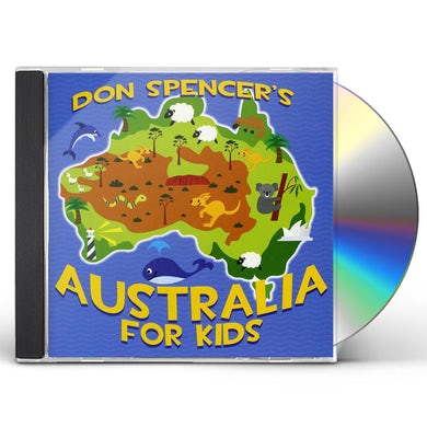 Don Spencer AUSTRALIA FOR KIDS CD