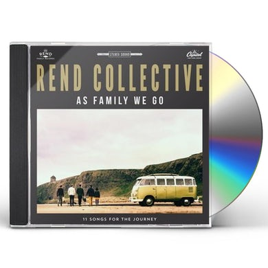 Rend Collective AS FAMILY WE GO CD