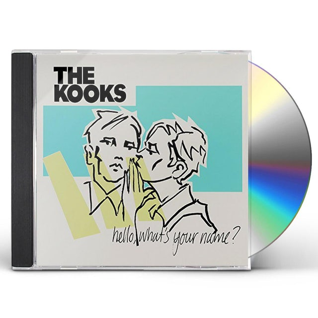 The Kooks HELLO WHAT'S YOUR NAME CD