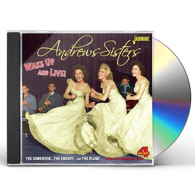 Andrews Sisters WAKE UP & LIVE: SONGBOOK CD