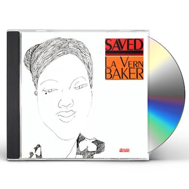 Lavern Baker SAVED CD