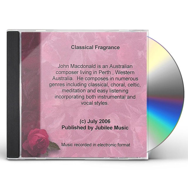 John MacDonald CLASSICAL FRAGRANCE CD