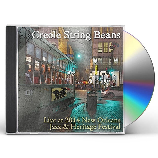 Creole String Beans LIVE AT JAZZ FEST 2014 CD