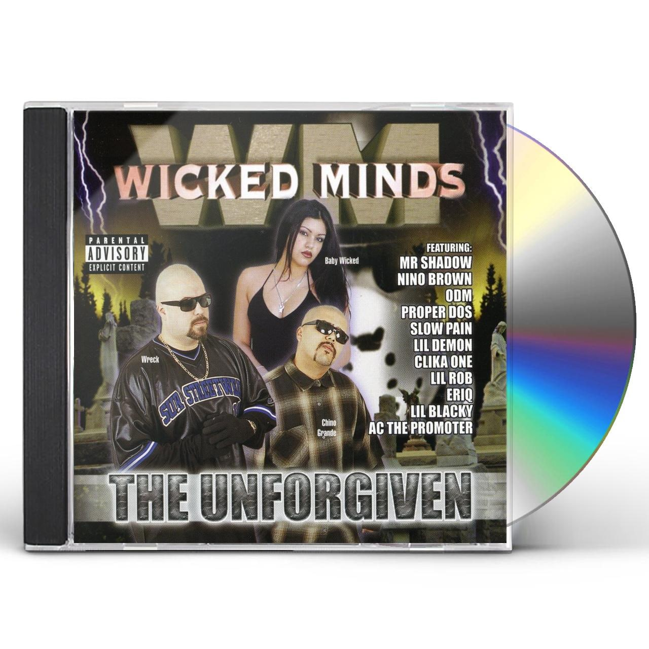 Wicked Minds UNFORGIVEN CD