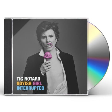 BOYISH GIRL INTERRUPTED CD