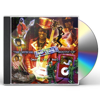 Bootsy Collins BOOT-LEGGED CD