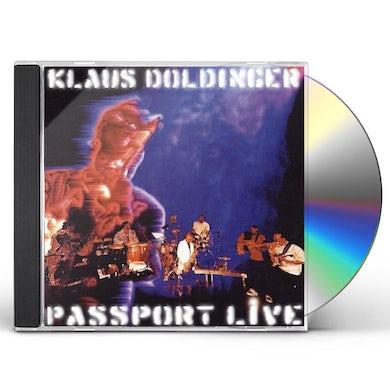 Klaus Doldinger PASSPORT LIVE CD
