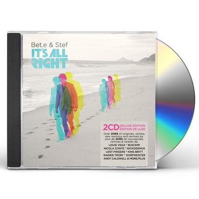 Bet.e & Stef IT'S ALL RIGHT CD