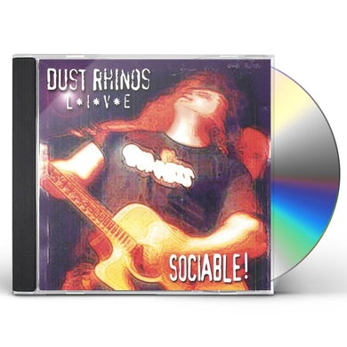 Dust Rhinos SOCIABLE-LIVE CD