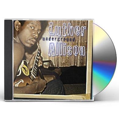 Luther Allison UNDERGROUND CD
