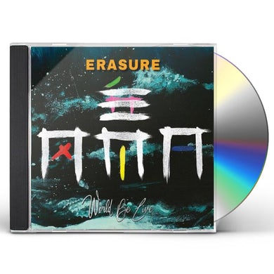Erasure WORLD BE LIVE CD