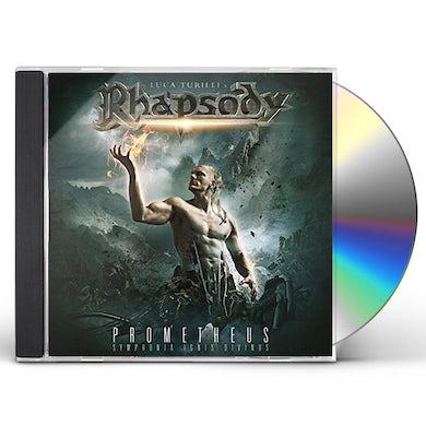 Luca Turilli'S Rhapsody  PROMETHEUS SYMPHONIA IGNIS DIVINUS CD