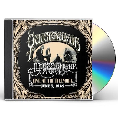 Quicksilver Messenger Service LIVE AT THE FILLMORE JUNE 7, 1968 CD