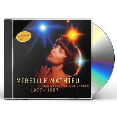 Mireille Mathieu DAS BESTE DER JAHRE 77-87 CD
