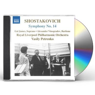 Shostakovich SYM 14 CD