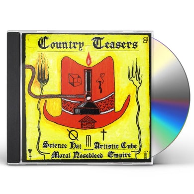 Country Teasers SCIENCE HAT ARTISTIC CUBE MORAL NOSEBLEED EMPIRE CD