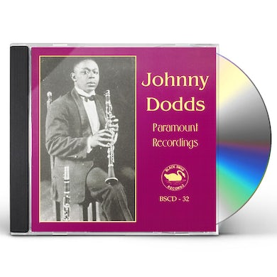 Johnny Dodds COMPLETE PARAMOUNT RECORDINGS 1 CD