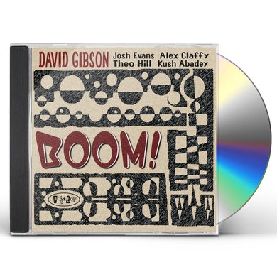 Dave Gibson BOOM CD