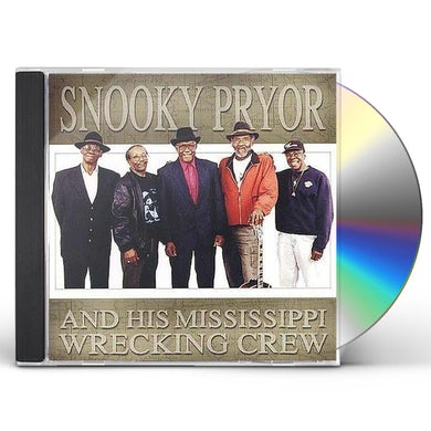 Snooky Pryor HIS MISSISSIPPI WRECKING CREW CD
