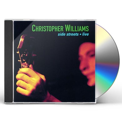 Christopher Williams SIDE STREETS LIVE CD