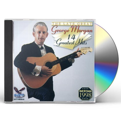 George Morgan 14 GREATEST HITS CD