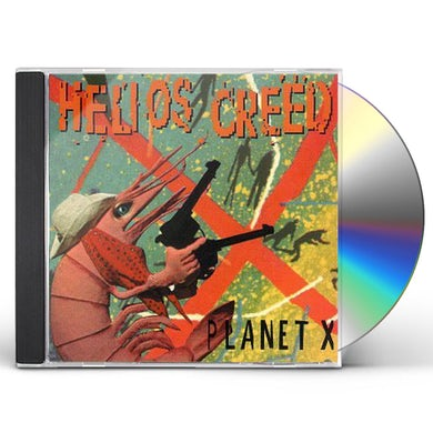 Helios Creed PLANET X CD