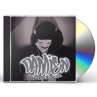 Damien HEAR ME SPEAK CD