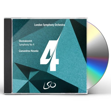 Shostakovich: Symphony No. 4 CD