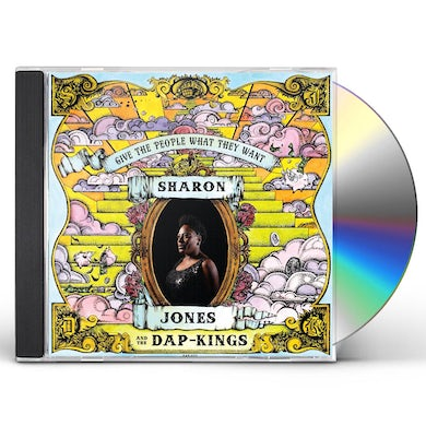 Sharon Jones GIVE THE PEOPLE WHAT THEY WANT CD