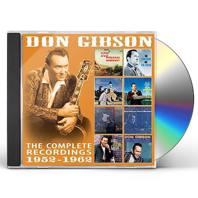 Don Gibson COMPLETE RECORDINGS: 1952-1962 CD
