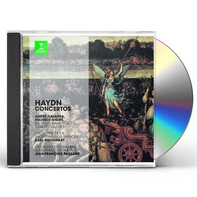 Haydn ERATO STORY - CONS FOR CELLO TRUMPET & TWO HORNS CD