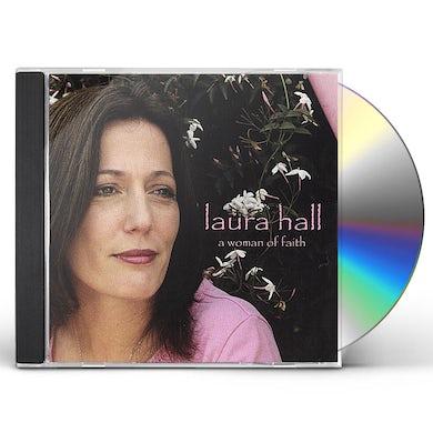 Laura Hall WOMAN OF FAITH CD