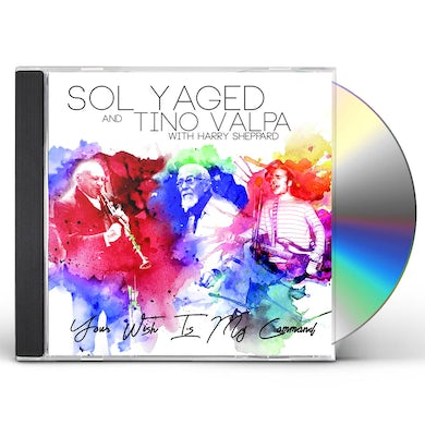 Sol Yaged & Tino Valpa YOUR WISH IS MY COMMAND CD