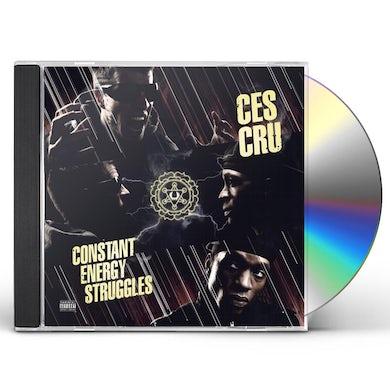 Ces Cru CONSTANT ENERGY STRUGGLES CD