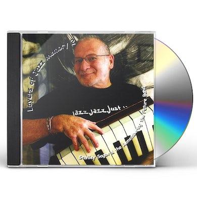 Stanley Sagov LAYERS OF JAZZ MEMORY 2 CD
