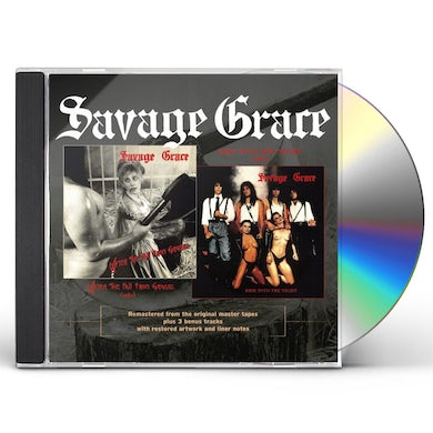 Savage Grace AFTER THE FALL FROM GRACE RIDE INTO THE NIGHT CD