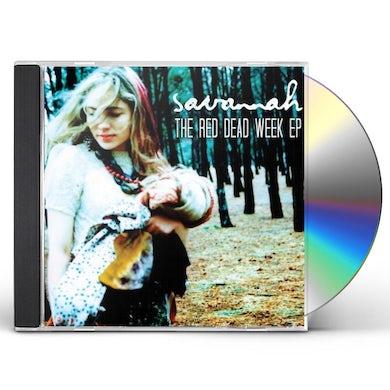 Savannah RED DEAD WEEK EP CD