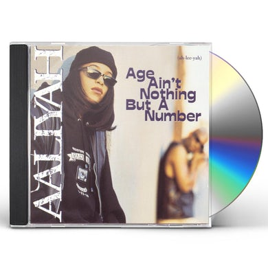 Aaliyah AGE AINT NOTHING BUT A NUMBER CD