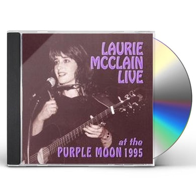 Laurie McClain LIVE AT THE PURPLE MOON 1995 CD