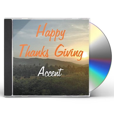 Accent HAPPY THANKS GIVING CD