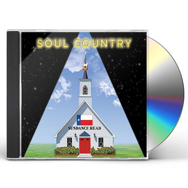 Sundance Head SOUL COUNTRY CD
