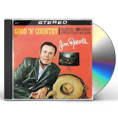 Jim Reeves GOOD 'N' COUNTRY CD