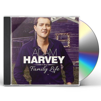 Adam Harvey FAMILY LIFE CD