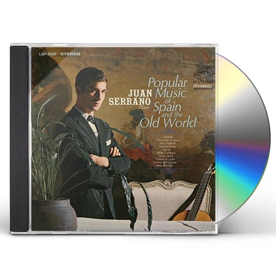 Juan Serrano PLAYS POPULAR MUSIC OF SPAIN AND THE OLD WORLD CD