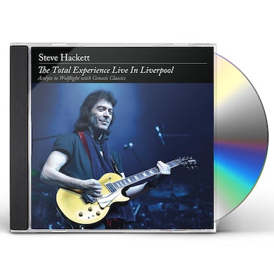 Steve Hackett TOTAL EXPERIENCE LIVE IN LIVERPOOL CD
